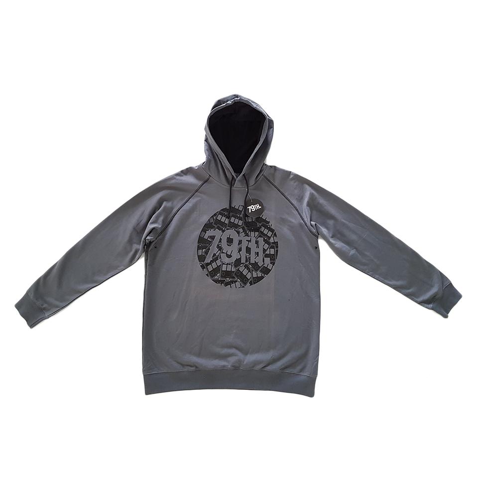 79th hoodie grey
