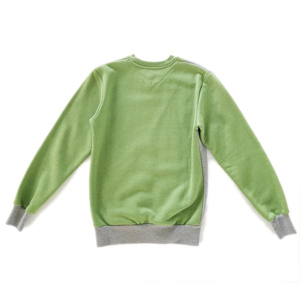 bluza Turbokolor grey/green 2