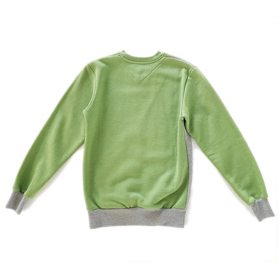 bluza Turbokolor grey/green