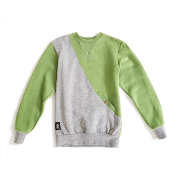 bluza Turbokolor grey/green 1