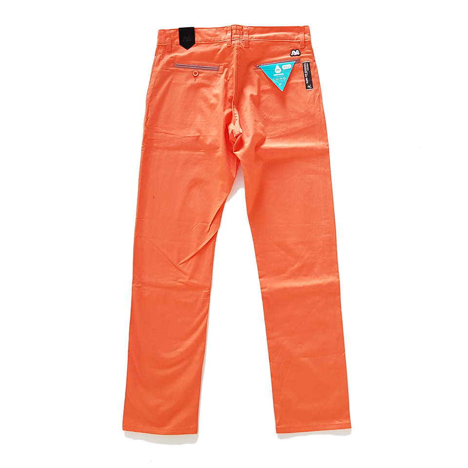 Spodnie TURBOKOLOR chinos - orange