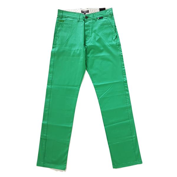 Spodnie TURBOKOLOR chinos – green 1