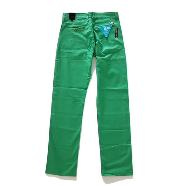 Spodnie TURBOKOLOR chinos – green 2
