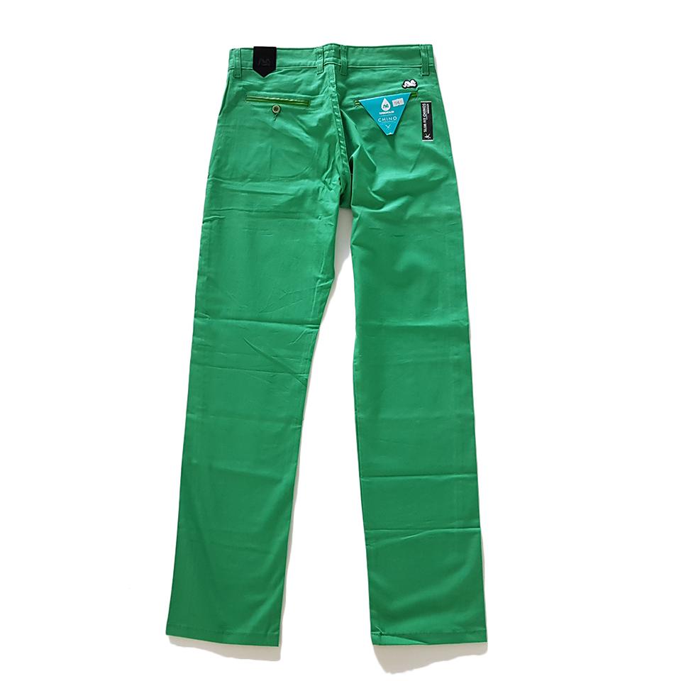 Spodnie TURBOKOLOR chinos - green