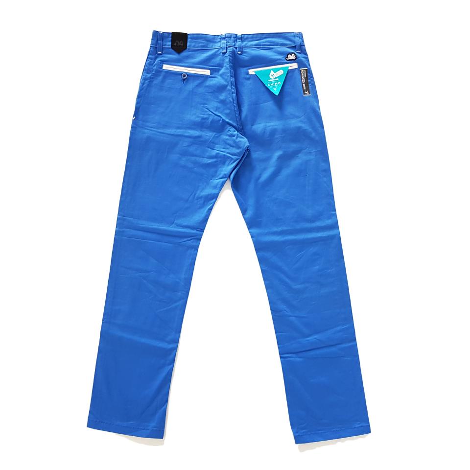 Spodnie TURBOKOLOR chinos - blue