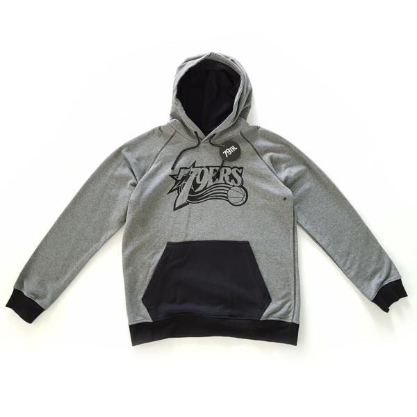 79th hoodie 79ers black/grey 1