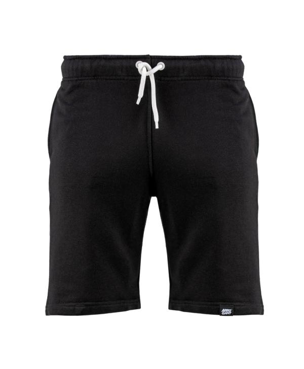 shorts-arrogant-logo-fence-black