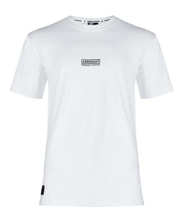 tee-arrogant-frame-small-logo-white